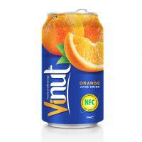 330ml Canned Fruit Juice Orange Juice Drink Wholesale
