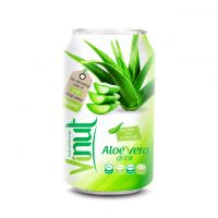 Cans Fresh Aloe vera drink 330ml (Pack of 24)