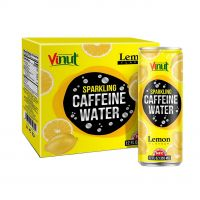 355ml Carbonated drinks VINUT Box 4 Cans Caffeine water Lemon Directory Most Preferred Sale fresh customized label