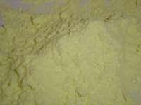 Ground sulphur powder 99, 95%