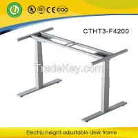 height adjustable working table frame