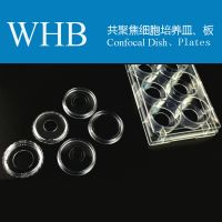 High Quality WHB Sterile Glass Bottom Cell Culture Dish / Plate