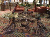 Big Five African Carved Furniture