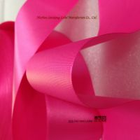 Good quality polyester satin ribbon single side for garment labels