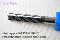 High performance 4 flute Carbide End mill , Square End mill, Milling cutter.