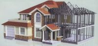 Prefabricated Steel structure apartment building design manufacture