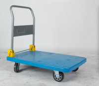 Platform Type Folding Trolley, Hand Truck, Hand Cart, Plastic Caster
