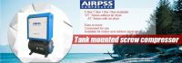 Airpss Rotary  screw type air  compressor made in China of 3.6m3/min