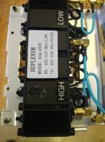 UHF 10W 400-470MHz MINI Duplexer for radio repeater