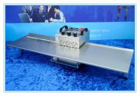 V-groove aluminum pcb board cutting machine, aluminum led pcb cutter