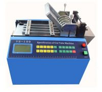 Automatic Plastic/PVC/Shrink Tubing Cutting Machine