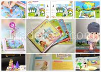 Early Education Toys Voal Magic 3D/4D Books, Children Christmas Gift B