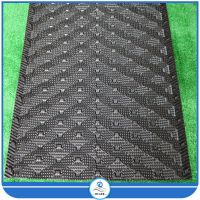 Black PVC Honeycomb