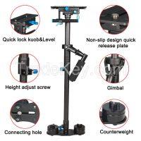 Professional YELANGU Black Carbon Fiber Handheld Camera Stabilizer