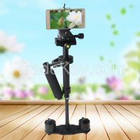 YELANGU Black Max 40cm Camera Mount Steadicam Stabilizer For DSLR Camcorders