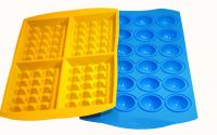 Silicon Waffle Mold Cake Maker Lollipop Maker Bakeware FDA