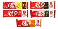 Kit Kat 2 Finger 9pk