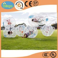 Newly customized bubble football bumper