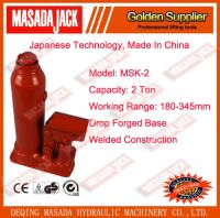 2 Ton Welded Construction Hydraulic Bottle Jack, Car Jack, Lifting Tools, MSK-2