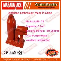 2 Ton Welded Construction Hydraulic Bottle Jack, Car Jack, Lifting Tools,MSK-2S