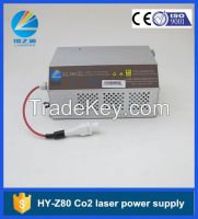 HY-Z80 intelligent Co2 laser power supply 80W with LCD screen