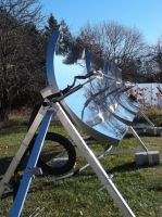 Parabolic Solar Trough
