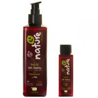 Natural dry Body Oil with pomegranate organic extracts (Nature Care Products from Greece)