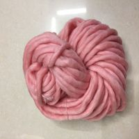 Korea super chunky iceland yarn acrylic blended yarn for scarf