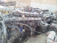 Used Scania diesel engine