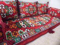 Hittite Oriental Seating - Majlis, Floor seating, Jalsa , Moroccan seating for Home and Hookah Lounge
