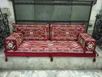 Phrygia Oriental Seating - Majlis, Floor seating, Jalsa , Moroccan seating for Home and Hookah Lounge
