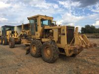 CAT 12G Motor Grader W/ rear ripper
