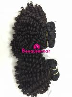 Beequeenhair curly extensions natural black