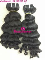 Beequeenhair wavy extensions natural black