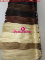 Beequeenhair MACHINE WEFT HAIR extensions 22 INCHES