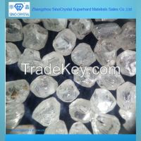 white rough synthetic diamond rough