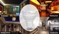 2016 The Latest Design RGBW LED Spotlighting led spotlight 4w Reflector remote controlable led light bulb