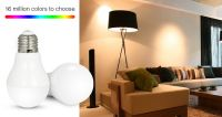 16 millions colors to choose RGBW color dimmable smart led bulb 6w factory price