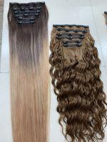 tape in hair, clip in hair