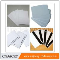 RFID blank card/ID blank card/magnetic strip card