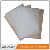 Transparent inkjet printing PVC sheet