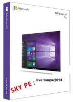 Factory Price Windows 7 8.1 10 pro OEM COA Sticker Scan  Brand New Key Code
