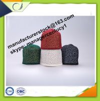 Sale Muslim namaz kufi hat caps with 100% wool felt