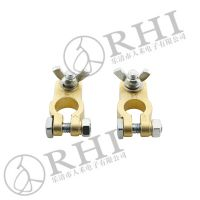 metal brass battery terminals battery clamps