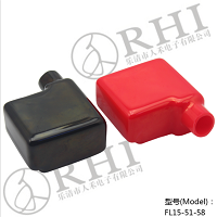 PVC battery terminal covers