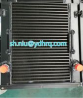 engineering machinery cooler, oil cooler for concrete mixer, Oil cooler for Lubricating system, engineering machinery