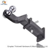 Forged and Welded Trailer Hitch Ball Mount for Vehicle