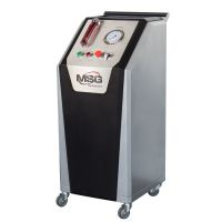 Test Bench MS505 for diagnostics of power steering racks and gears under power pressure.