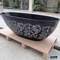 custom size bathtubs Solid surface bathroom bathtub