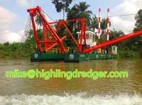 1500m³ river sand cutter suction dredger FOR SALE
